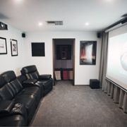 SvenStudios client preview room