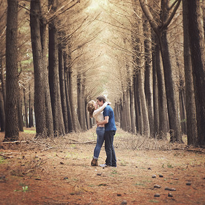 Kuitpo Forest Couple Shoot - Bethan & Alex 1