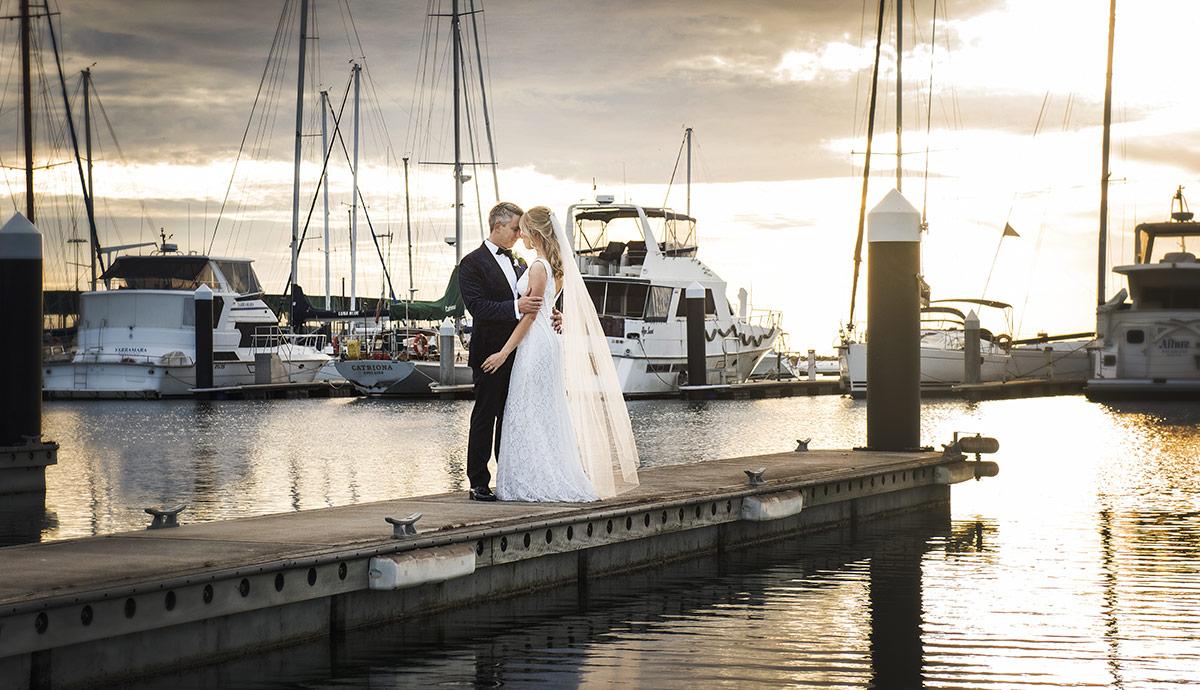 Sunset at the Royal SA Yacht Squadron