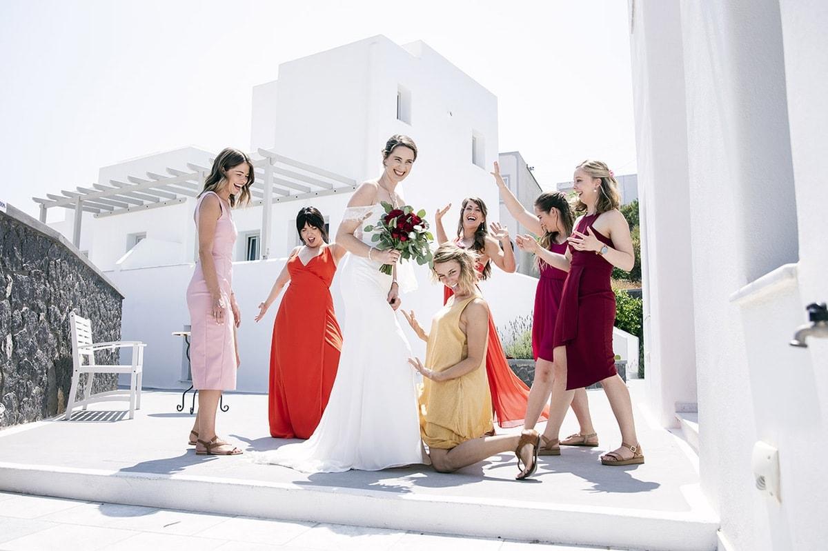 Santorini Wedding - Greece - Kerri & Tony 296